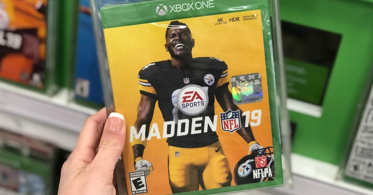 Madden NFL 19 or FIFA 19 Xbox One Digital Download Just