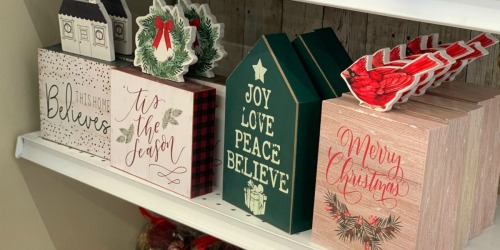 Up to 90% Off Christmas Decor at JoAnn