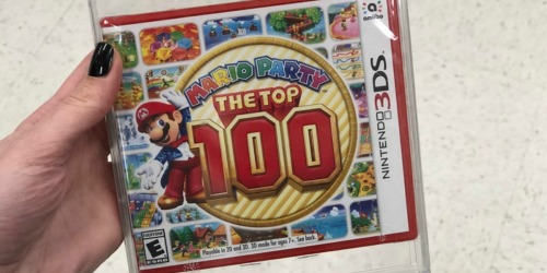 Mario Party The Top 100 Nintendo 3DS Game Only $27.99 Shipped