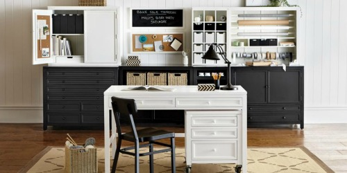 Up to 40% Off Craft Tables, Bookcases, File Cabinets & More + Free Shipping