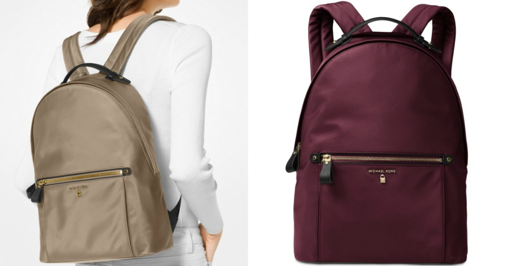 99b1c7b727fe Michael Kors Kelsey Large Backpack in Truffle or Plum Gold Only  70.93  (regularly  178)