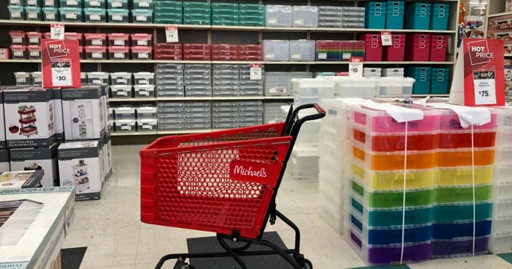 Michaels Craft Storage