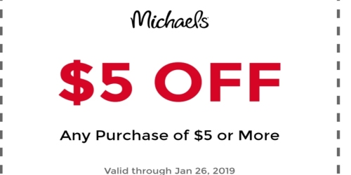 Possible Michael's Email Offer
