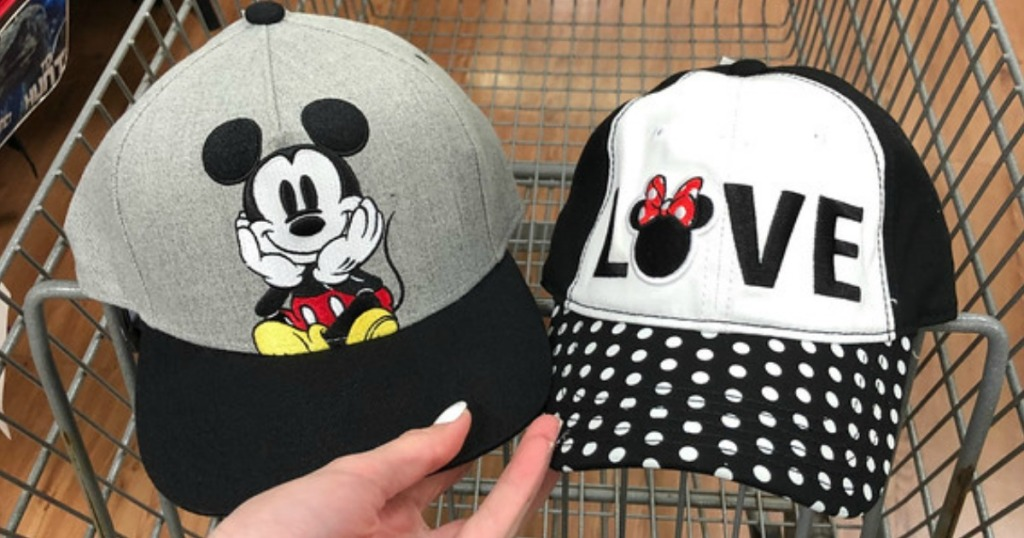 4cacb8aa Head to Walmart where you may find Disney Minnie and Mickey Mouse hats on  clearance for just $2 (regularly $9.96) – both in-store and online!