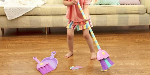 Mighty Tidy Toy Broom Set Just $6.47 (Regularly $16) – Ships w/ $25 Amazon Order