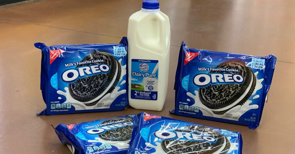 graphic relating to Oreo Printable Coupons known as $9 Relevance of Exceptional Milk OREO Cookies Discount codes - Hip2Help you save