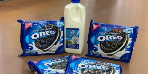 $9 Worth of RARE Milk & OREO Cookies Coupons