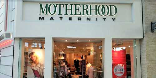 Extra 50% Off Clearance Apparel at Motherhood Maternity