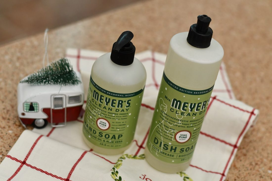 Mrs. Meyer's Pine Scent Cleaning Products