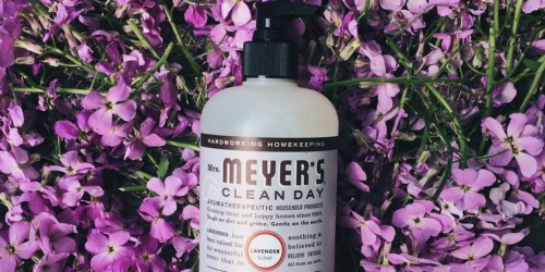 Mrs. Meyer's Lavender Scented Hand Lotion Only $2.38 Shipped on Amazon