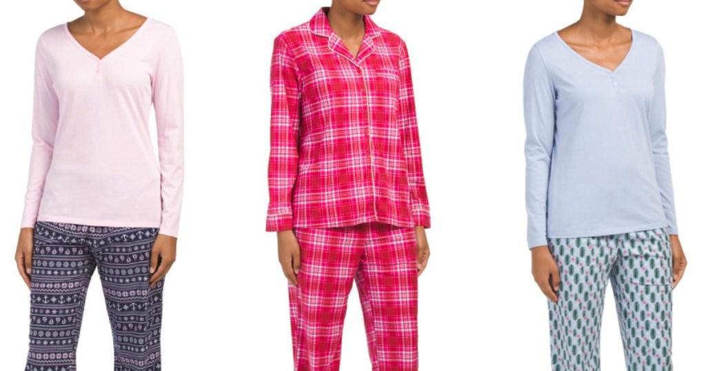 50% Off Nautica Women s 2-Piece Pajama Sets at TJMaxx + More 89b8076c9