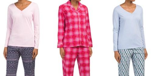 50% Off Nautica Women's 2-Piece Pajama Sets at TJMaxx + More