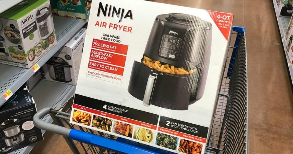 Ninja Air Fryer in Walmart Cart