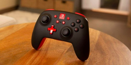 PowerA Enhanced Wireless Nintendo Switch Controller Only $39.99 Shipped (Regularly $50)