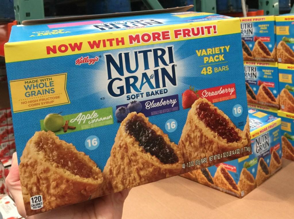 Nutri Grain bars at Costco