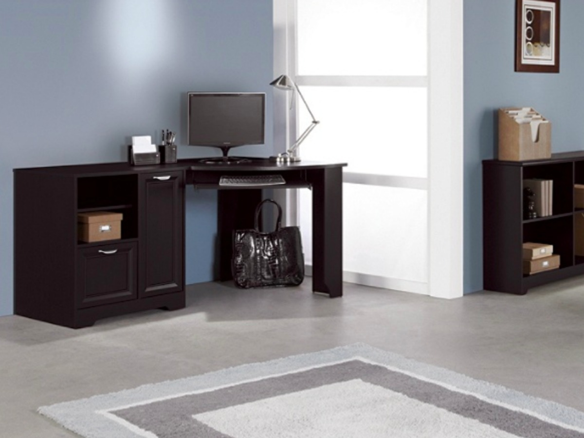 Realspace Corner Desk Just 86 At Office Depot Officemax Regularly 230