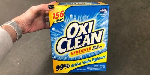 Amazon: OxiClean Versatile Stain Remover 7 Pound Container Only $8.98 Shipped