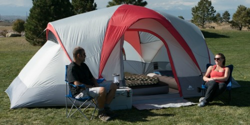 Ozark Trail 9-Person Dome Tent + TWO Intex Queen Airbeds Just $113.94 Shipped