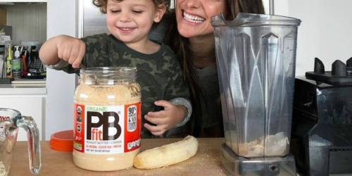 Amazon Prime PBfit Organic Peanut Butter Powder 30oz Only 769 Shipped Great For Smoothies