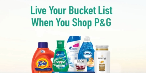 $20 Back On Your P&G Purchase of $35