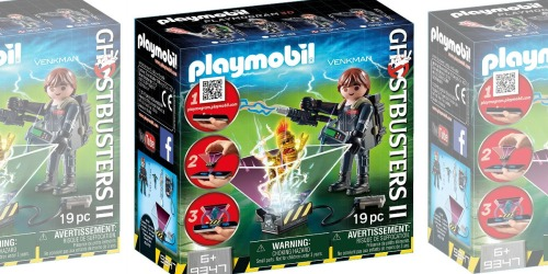 PLAYMOBIL Ghostbusters Building Set Just $2.18 (Ships w/ $25 Amazon Order)