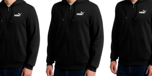 PUMA Men's Fleece Hooded Jacket Just $20.99 Shipped (Regularly $50)
