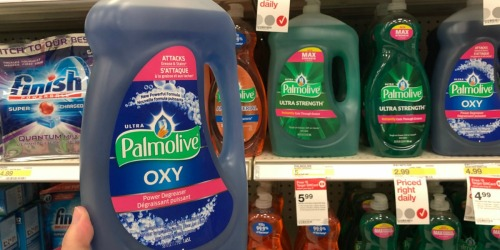 TWO Palmolive Dish Soap Bottles Only $6.98 After Target Gift Card (Just $3.49 Per LARGE Bottle)