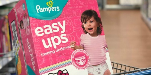 Amazon Family: Pampers Easy Ups 124-Count Box Only $31 Shipped + More