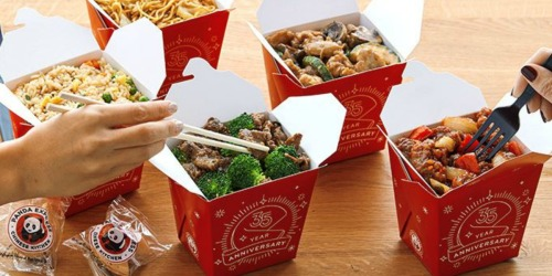 Panda Express Family Feast as Low as $21.50 – Includes 3 Large Entrees & 2 Large Sides