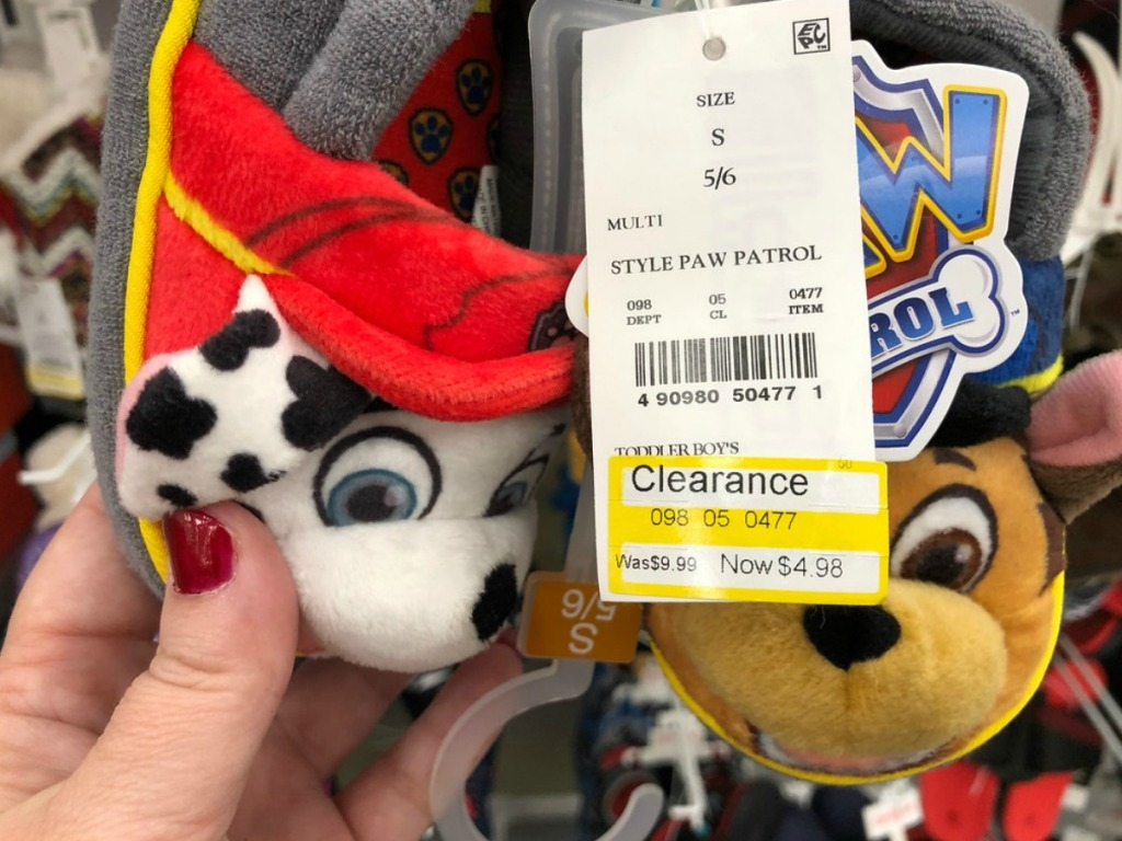38f84cc98776c Toddler Boys Paw Patrol A-line Slippers Only  4.98 (regularly  9.99) Search  DCPI 098-05-0477