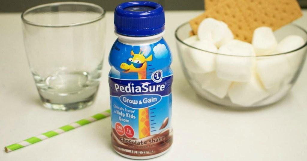 chocolate flavor PediaSure Grow & Gain