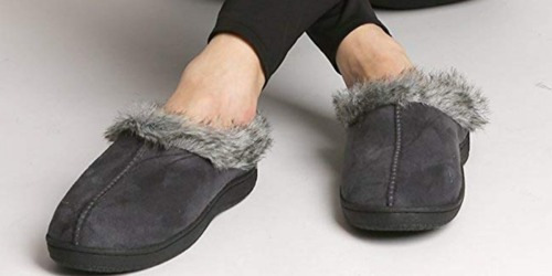 Amazon: Pembrook Memory Foam Slippers Only $8.42 Shipped