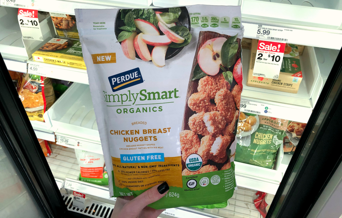 Perdue Simply Smart Gluten Free Nuggets bag which is part of the recall