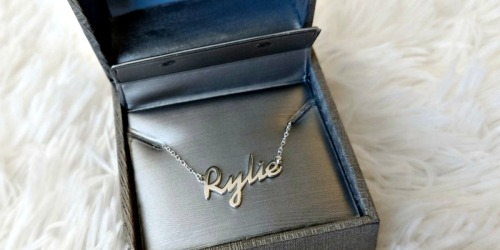Zales Personalized Sterling Silver Necklace Only $19.99 Shipped (Regularly $90) & More