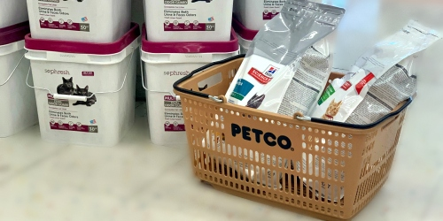 Buy Hill's Science Diet Cat Food Bag at Petco, Get FREE Cat Litter (In-Store Only)