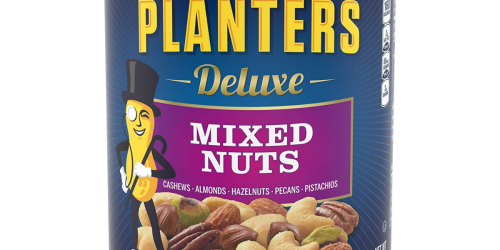 Amazon: Planters Deluxe Mixed Nuts Just $5.72 Shipped + More