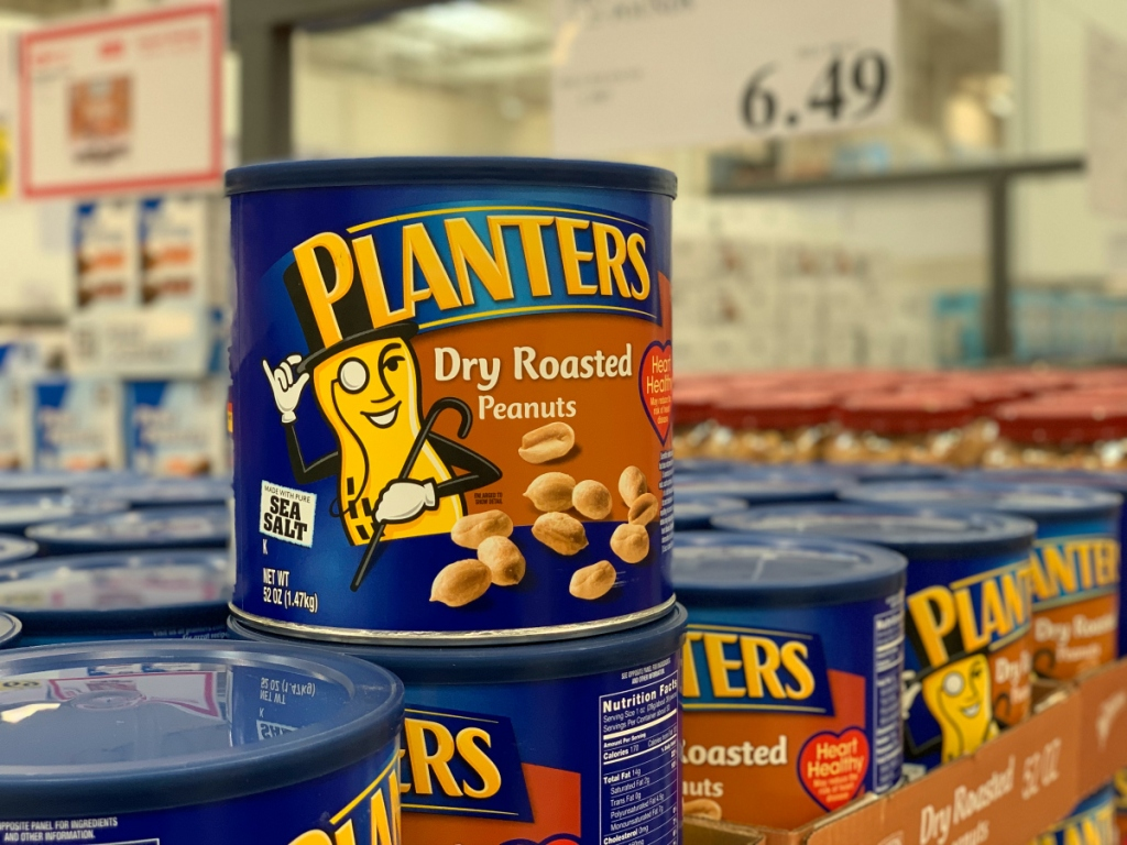Planters Peanuts at Costco