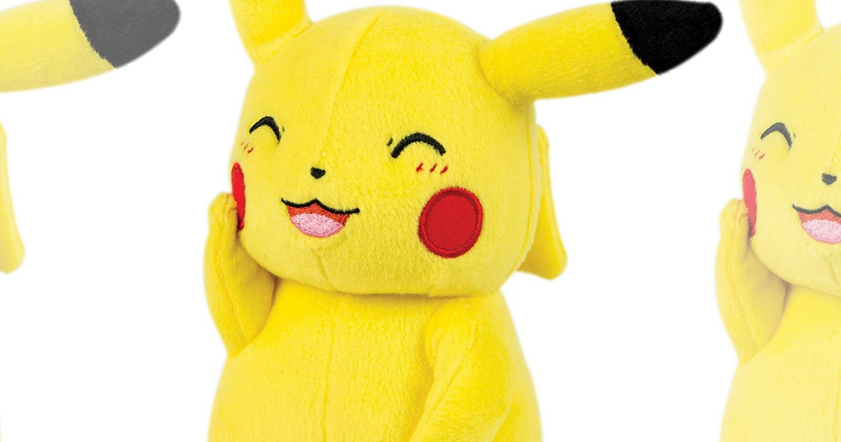 50% Off Pokemon Plush at GameStop - Hip2Save
