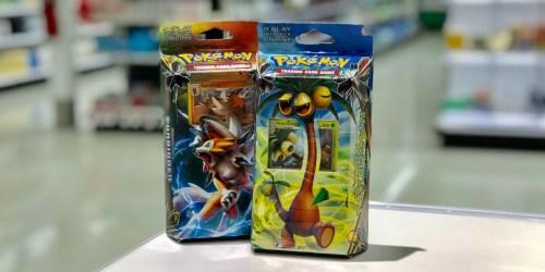Pokémon Theme Deck Trading Cards Blind Box Only $6.99 (Regularly $13)