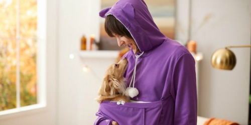 Pet Pouch Hoodies Only $19.99 (Regularly $47) On Zulily