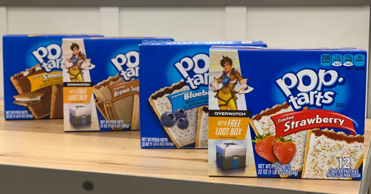 photograph about Pop Tarts Coupon Printable titled Kelloggs Pop-Tarts 12-Depend Box as Very low as $1.79 at Focus