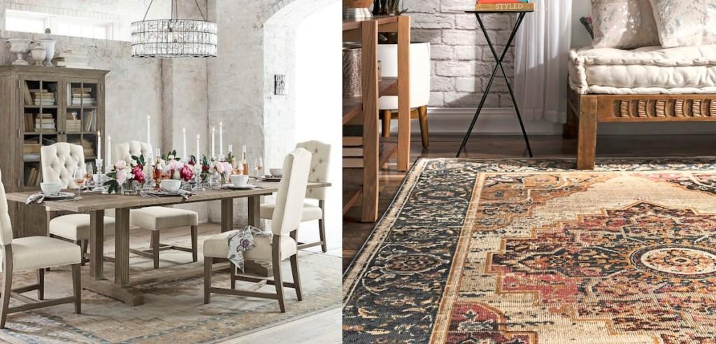 pottery-barn-wayfair-patterned-medallion-rugs-copycats-side-by-side