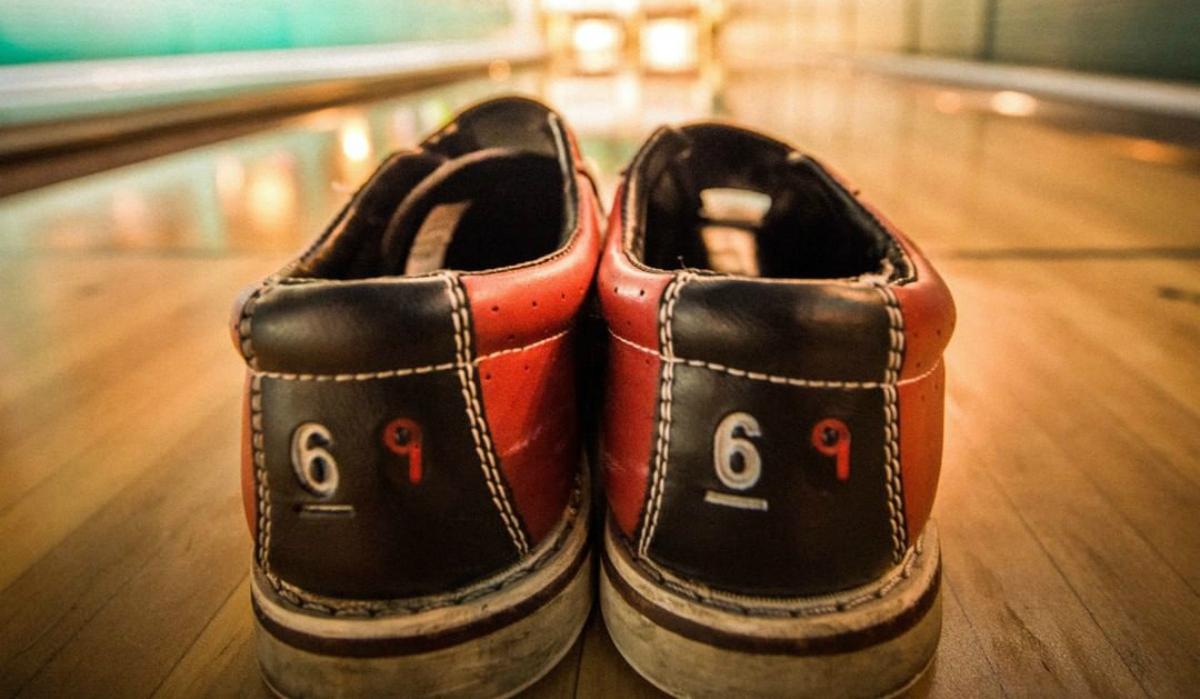 Punch Bowl Social bowling shoes