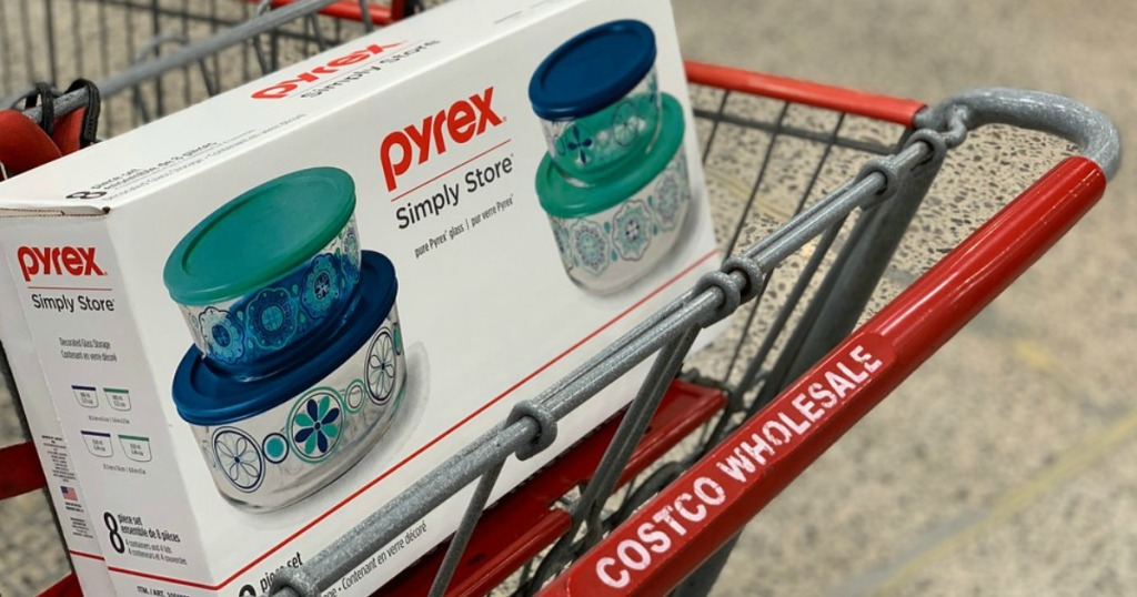 Pyrex Simply Store set at Costco