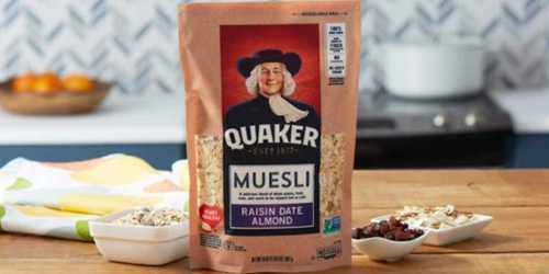 Amazon: 4 Pack Quaker Muesli Only $10 Shipped (Just $2.50 Each)