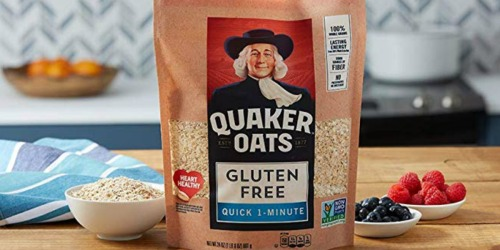 Amazon: Quaker Gluten Free Quick Cook Oats 4 Pack Only $13.99 Shipped (Just $3.49 Each)