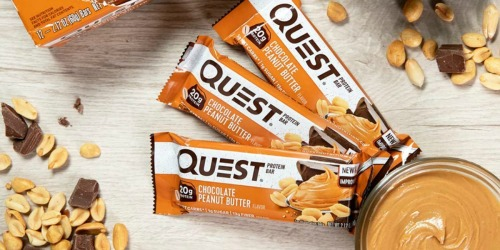 Quest Nutrition Protein Bar 12-Pack as Low as $12.59 Each on Target.com (Just $1.04 Per Bar)