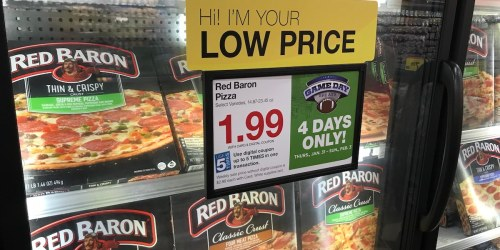 Kroger 4-Day Sale Starts Today! Score BIG Savings on Red Baron Pizza, Sargento Cheese & More