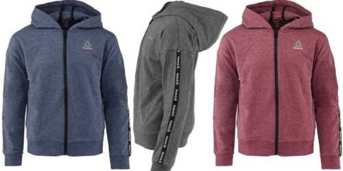 Reebok Girl's Active Full Zip Hoodie Only $12 Shipped (Regularly $36)