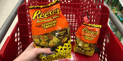 Reese's Crunchy Cookie Cups Family-Size Bag Only $3.49 at Target (Just Use Your Phone)